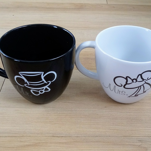 Mr And Nwt Mickey Disney Tote Mugs Minnie Mrs Free 8nwOPkXN0